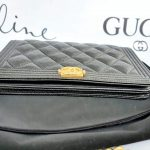 Authentic Chanel boy wallet on chain the baggery ph