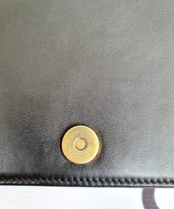 Authentic Chanel boy wallet on chain instagram
