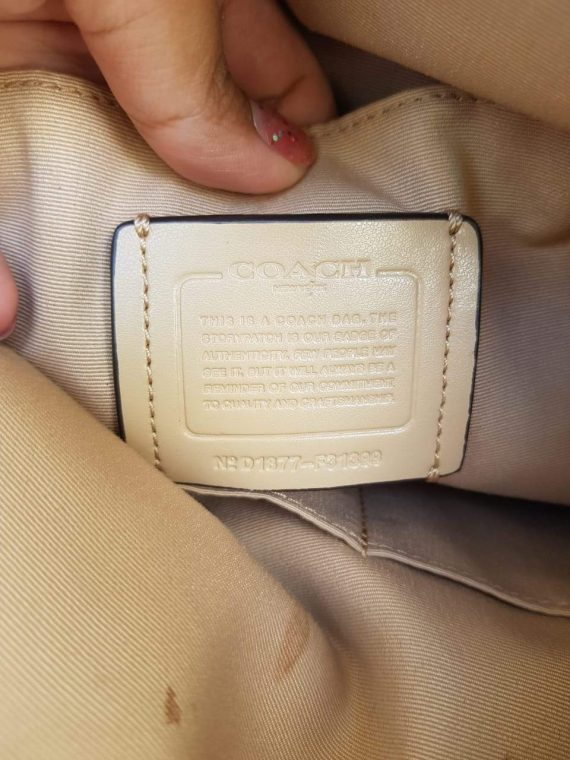 Authentic Coach Elle hobo bag in philippines
