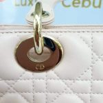 Authentic Lady Dior In light pink medium size preloved monthly payments