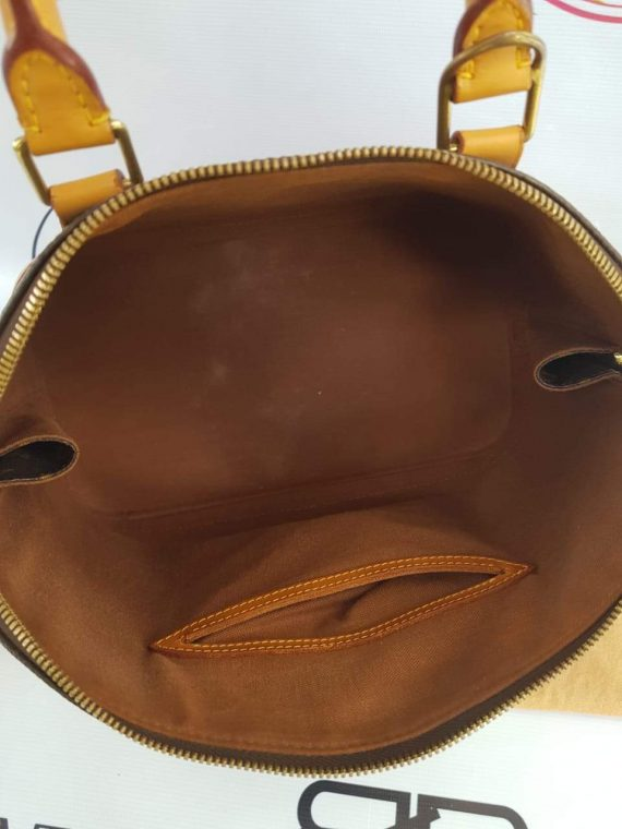 Authentic Louis Vuitton alma pm in monogram canvas for sell