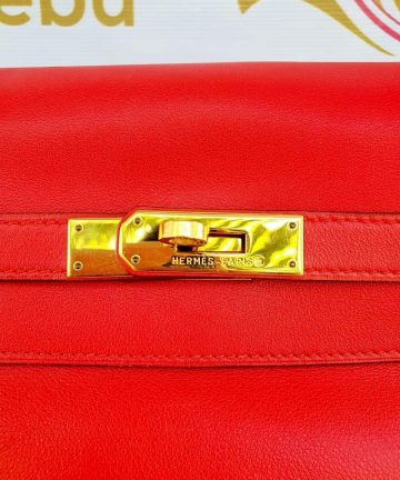 Authentic Vintage Hermes Kelly 35 in swift leather terms layaway