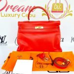 Authentic Vintage Hermes Kelly 35 in swift leather price