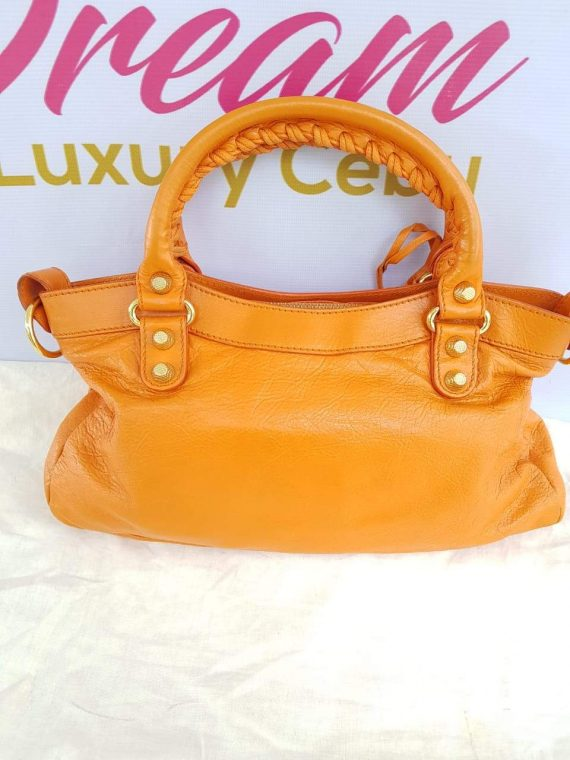 Authentic Balenciaga First in tangerin for sell