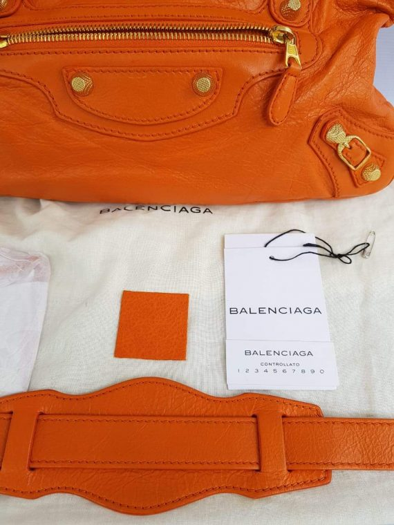 Authentic Balenciaga First in tangerin to buy