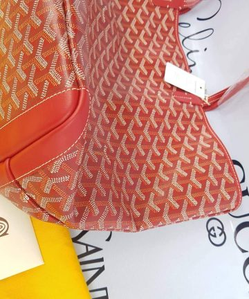 Authentic Goyard Red Artoise Mm consign