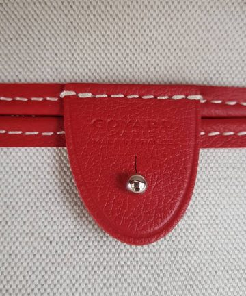 Authentic Goyard Red Artoise Mm buy and sell