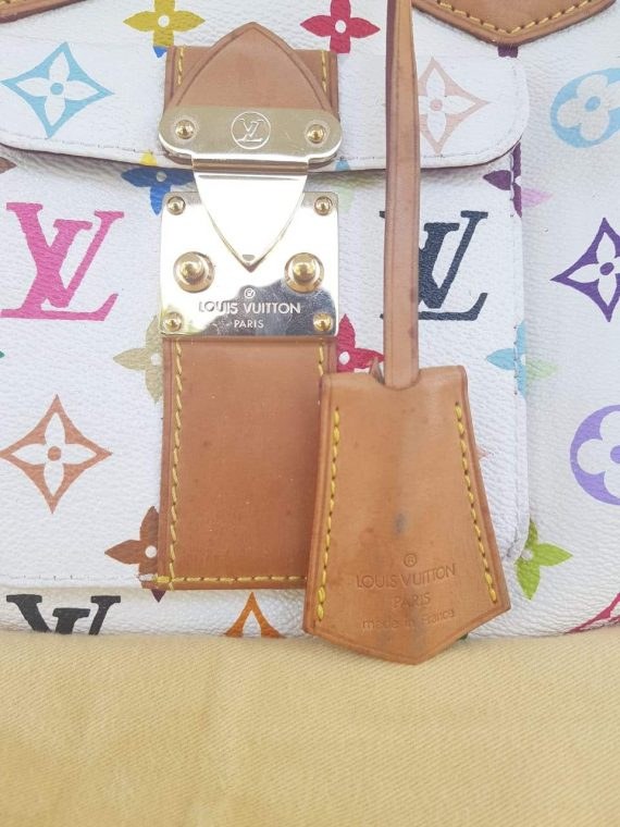 Authentic Louis Vuitton limited edition white pawn