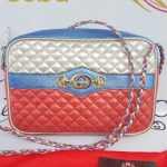 Authentic Gucci marmont camera bag limited ed braided chain pawn online
