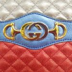 Authentic Gucci marmont camera bag limited ed braided chain consignment