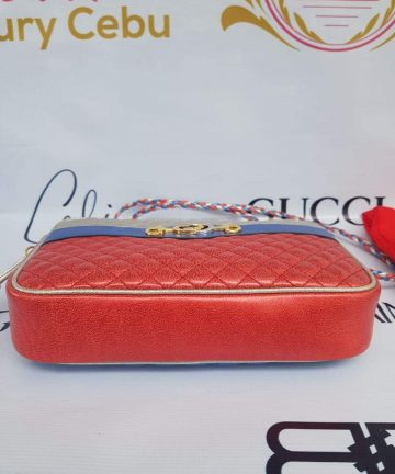 Authentic Gucci marmont camera bag limited ed braided chain price