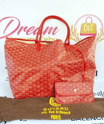 Authentic Goyard st. Louis Gm in red price
