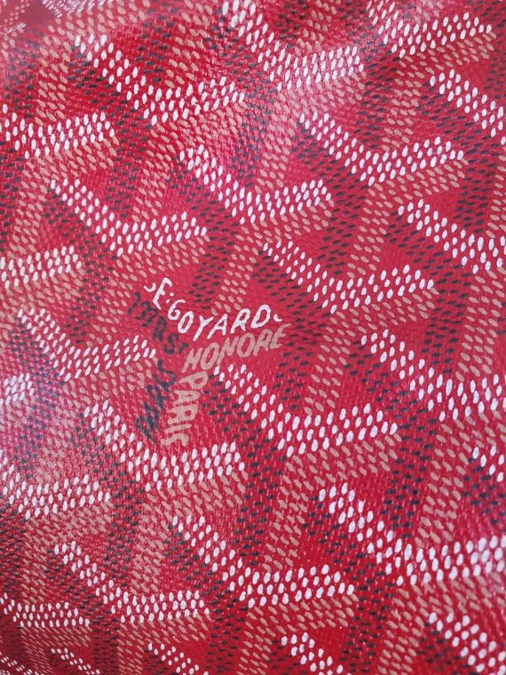 Authentic Goyard st. Louis Gm in red how much