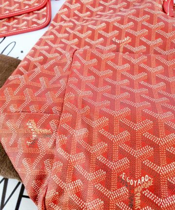 Authentic Goyard st. Louis Gm in red consign