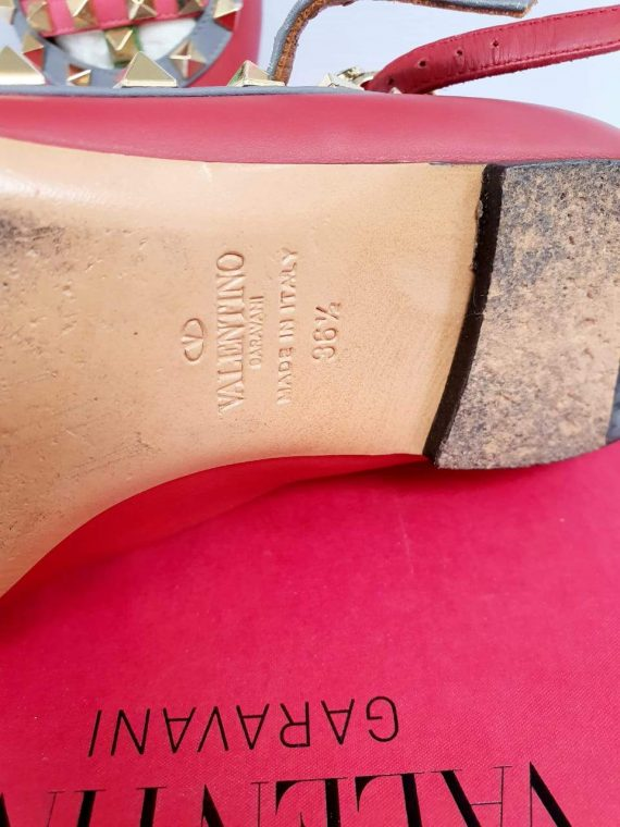 Authentic Valentino cage flats monthly payments