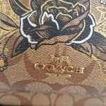 Brand new Authentic Coach limited edition painted canvas bag pack
