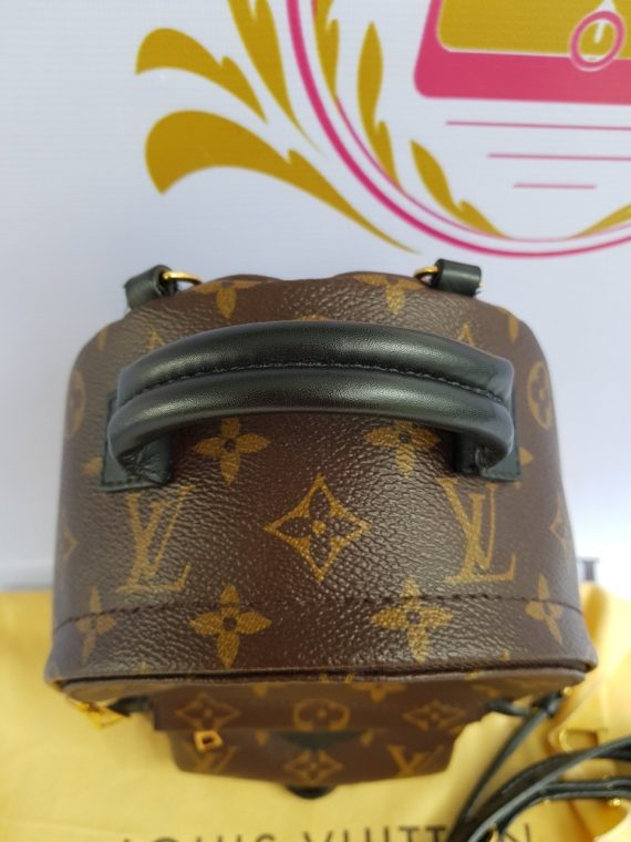 Authentic Louis Vuitton Palmspring Mini backpack bagaholic.com.ph