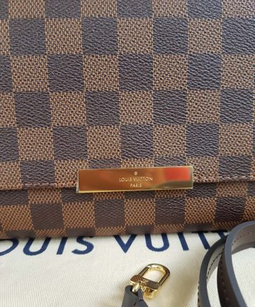Authentic Louis Vuitton favorite mm damier ebene canvas buy and sell