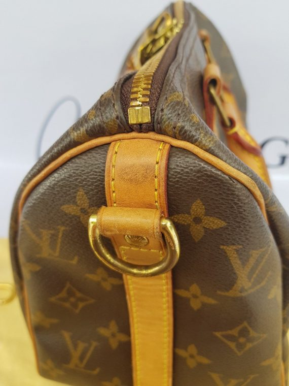 Authentic Chanel bandouliere 25 monogram canvas how much