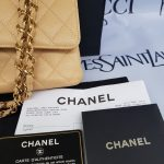 Authentic Chanel classic double flap medium in caviar leather Gold hardware seller
