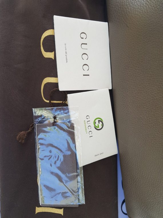 Gucci Bamboo Handbag Grained Leather supplier
