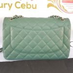 Authentic Chanel classic jumbo double clap in blue green Series 24 philippines