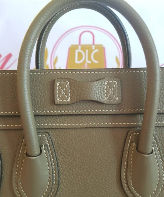 Celine Nano Luggage in Drummed Leather price