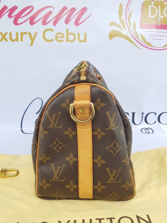 Authentic Chanel bandouliere 25 monogram canvas where to sell