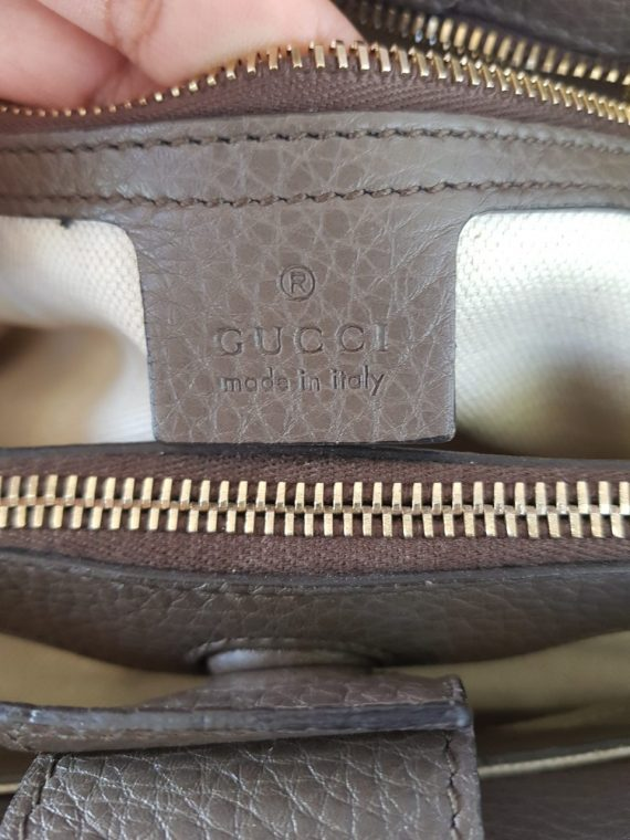 Gucci Bamboo Handbag Grained Leather terms layaway
