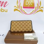 Authentic Gucci monogramme canvas long wallet philippines
