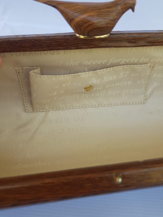 Limited Edition Kate Spade Wooden Bird Clutch terms layaway