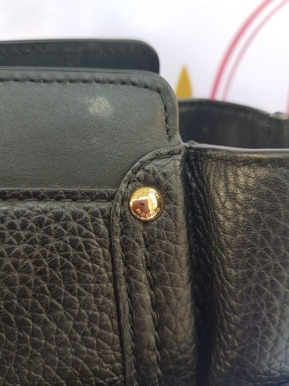 Authentic Coach Black Leather Satchel where to sell